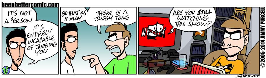 Judgy Tone