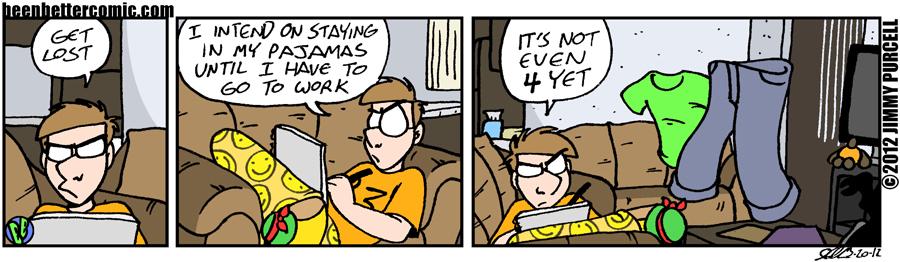 Still Pajama Time