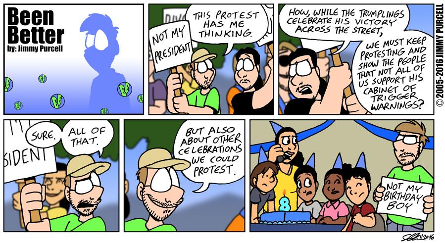 Celebration Protest