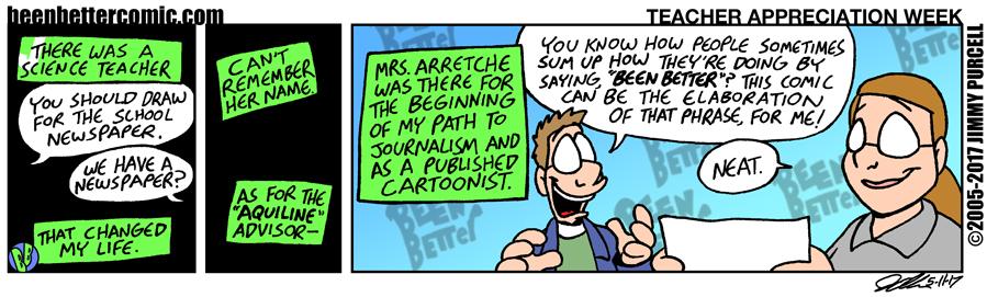 Created A Cartoonist
