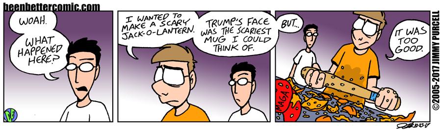 Trump-o-lantern