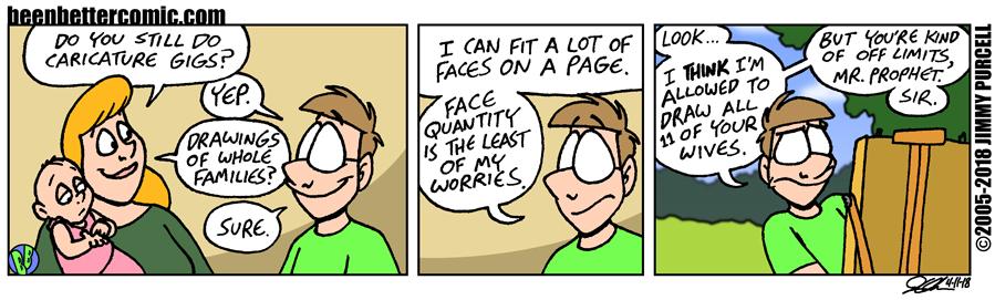 Caricature Worry